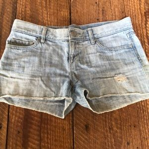 Loft cut off denim shorts size 4